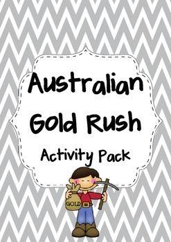 The Australian Gold Rush Activity Pack
