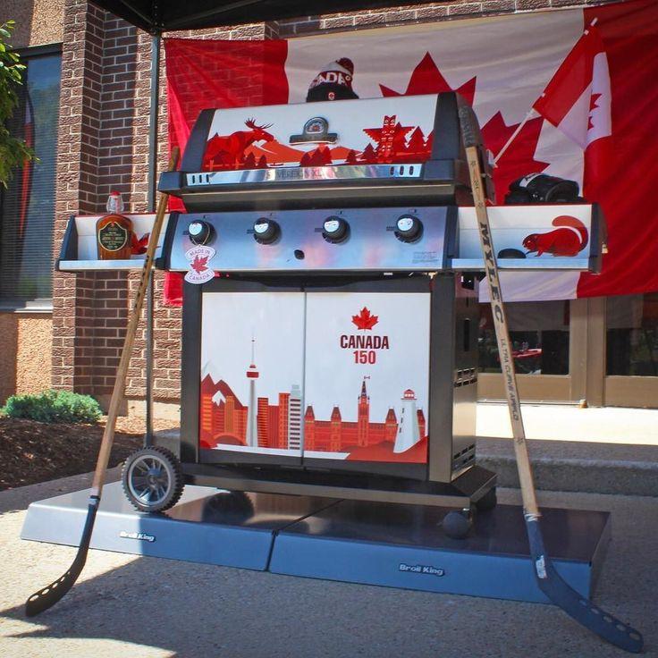 Z okazji 150 urodzin Kanady prezentujemy jubileuszowego grilla gazowego Broil King. #Canada150 #broilkingbbq #broilking #broilkingpolska #gasgrill #grill #grillgazowy #gaz #grillowanie #rocznica #hockey #hokej