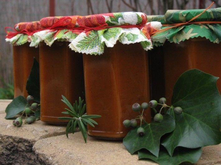Mézeskalácsos sütőtöklekvár