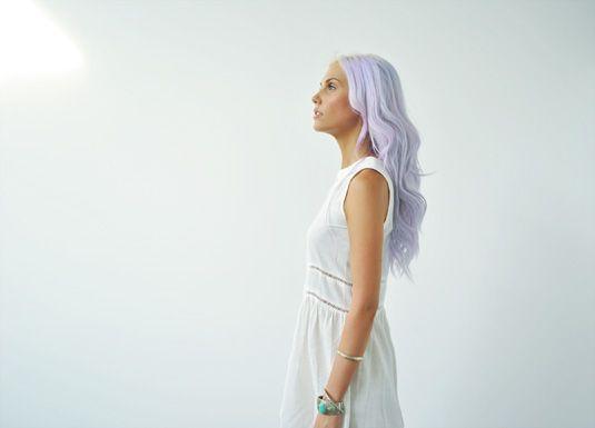amazing lilac hair