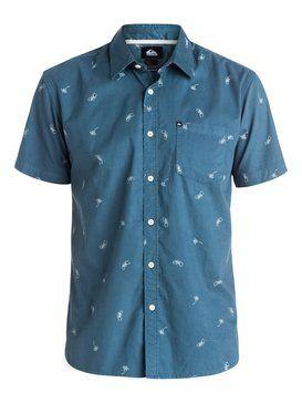 quiksilver, Everyday Mini Motif  Shirt, EVERYDAY MINI DENIM (brq6)