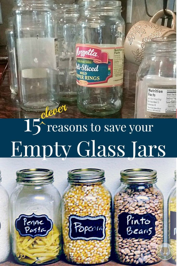 15 Clever Reasons to Save Your Empty