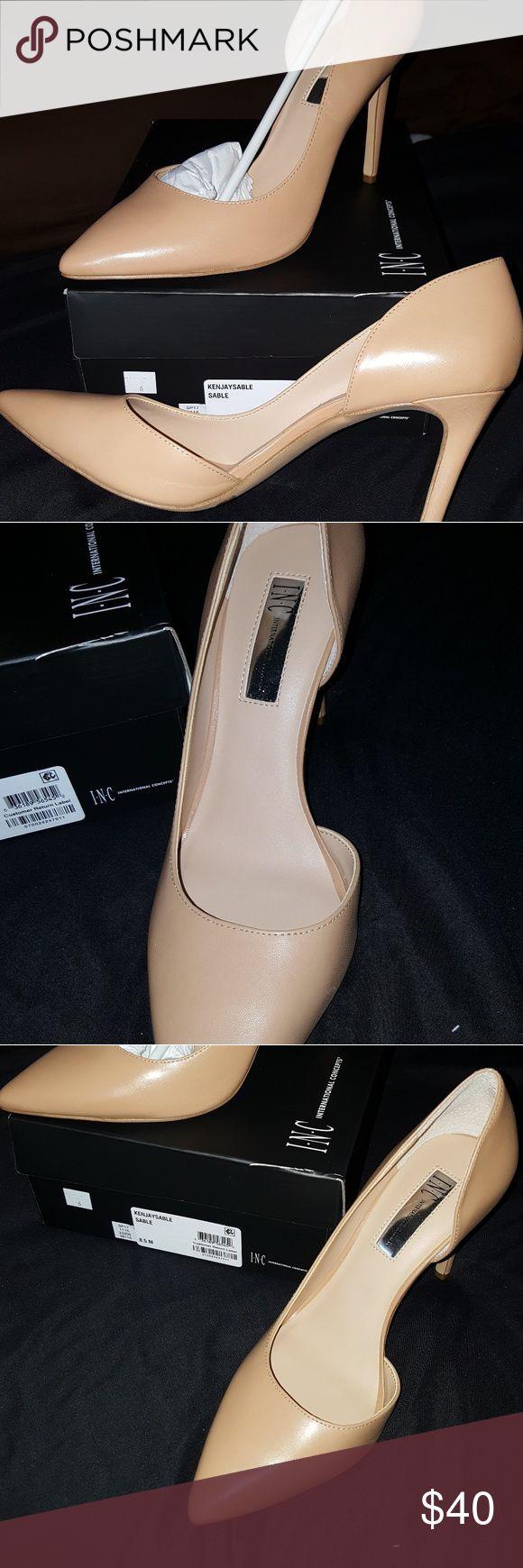 I.N.C High Heels High heels brand new never worn still in the box INC International Concepts Shoes Heels