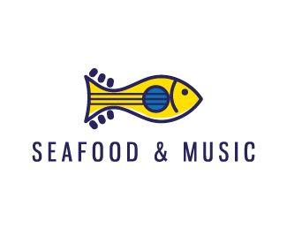 Logo Design - Seafood & Music