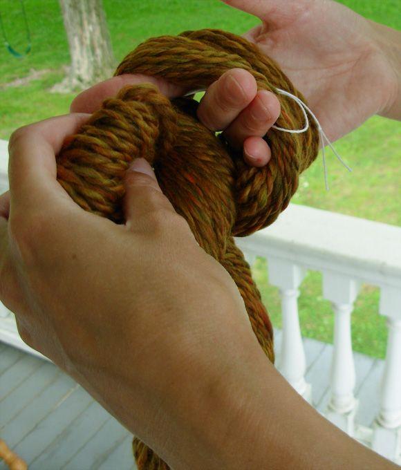 Finishing Yarn: Spinner's Glossary - Knittyspin Deep Fall 2011