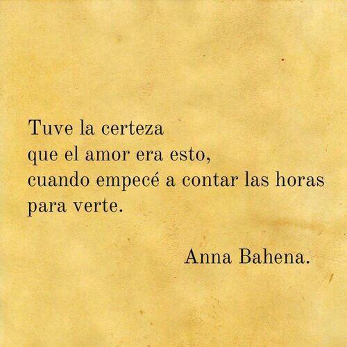 Amor - Anna Bahena.