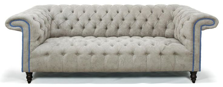 Lovely Fabric Chesterfield Sofa