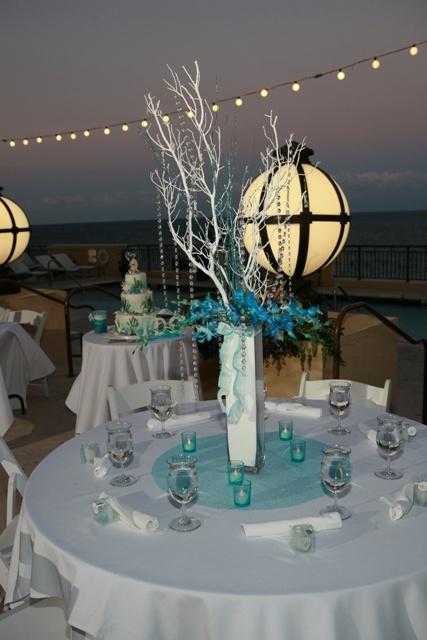Custom Crystal Manzanita Wedding Trees and Decor :  wedding crystal wedding trees custom decor flower girl reception decor tea lights wedding favors Olivia Erik 0574