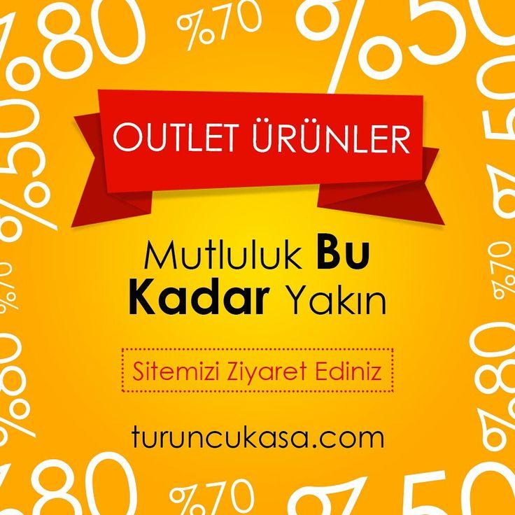 Mutluluk Bu Kadar Yakın :) Outlet ürünlerimizi incelediniz mi? #outlet #turuncukasa #indirim http://bit.ly/outlet_tk
