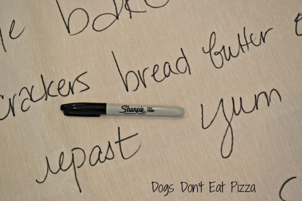 trusty sharpie pen to make curtains at www.dogsdonteatpizza.com