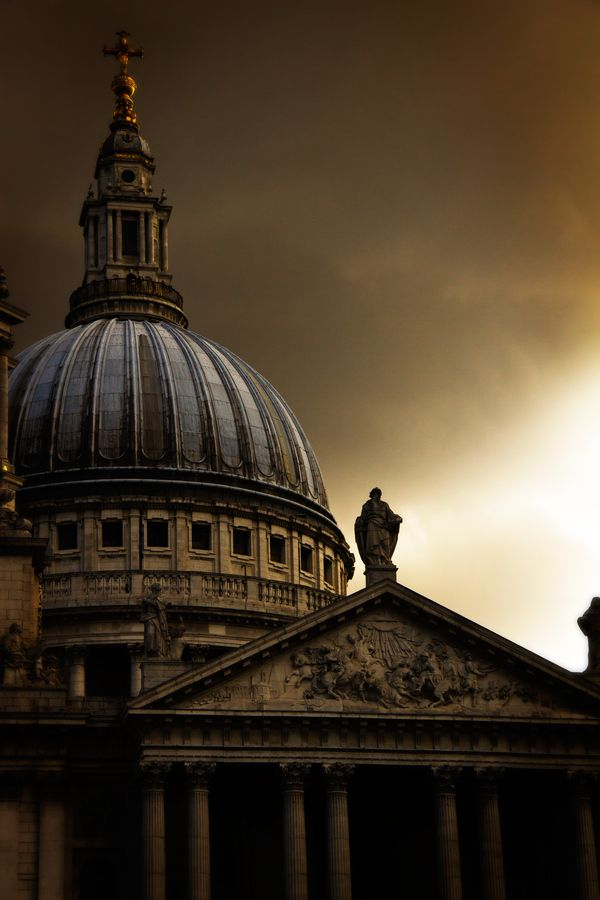 """St. Paul's, London. Always makes me think of """"Feed the birds"""" from Mary Poppins"""