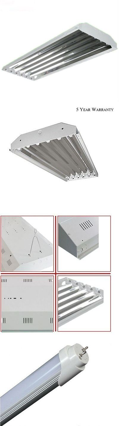 materials: 6 Bulb Lamp T8 Led High Bay Commercial Light Fixture Warehouse Shop Garage -> BUY IT NOW ONLY: $79.99 on eBay!