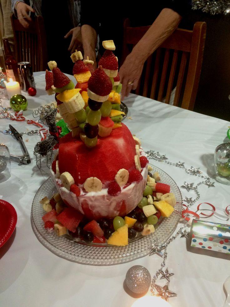 Xmas Dinner Watermelon