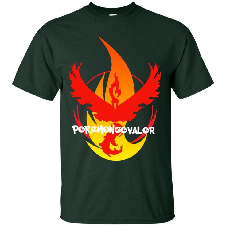 POKEMON GO TEAM VALOR FIRE T-SHIRT