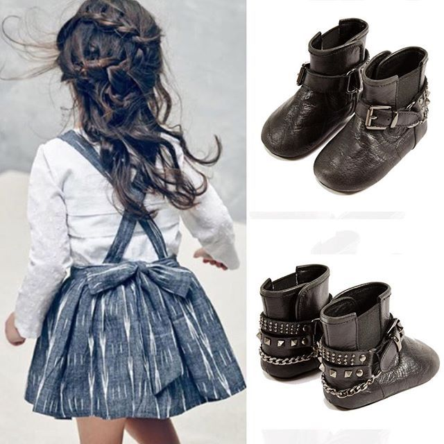 And this is how you could style a sweet #Nellystella dress into a rocker chic…