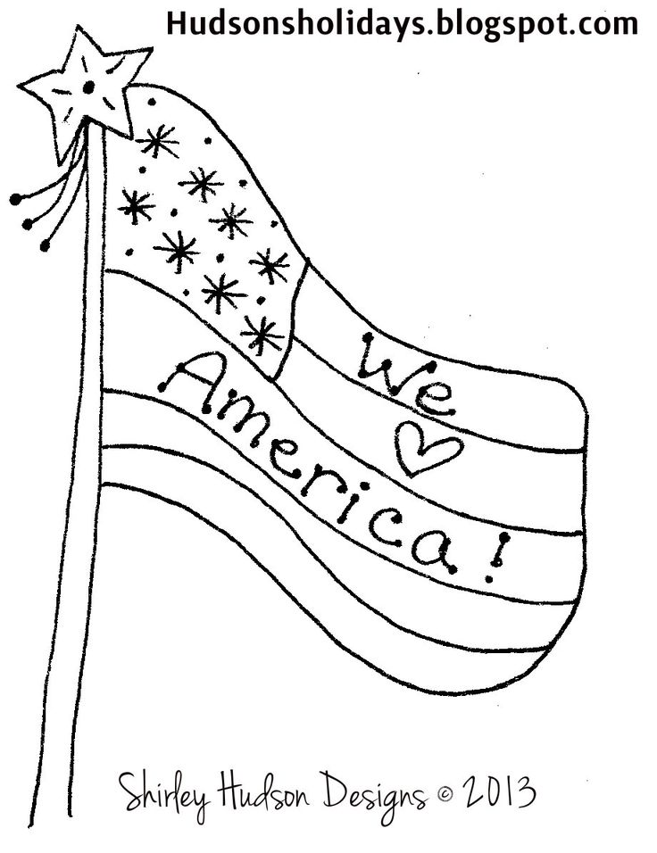 americana folk art coloring pages - photo#36