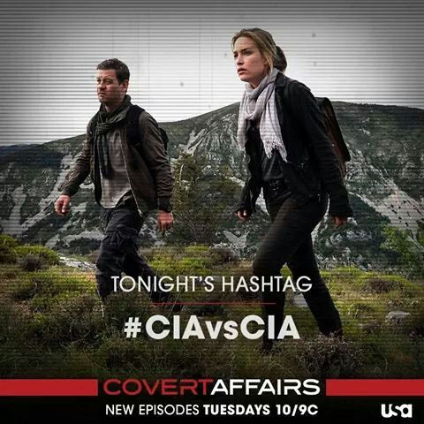 An agent's gone rogue. Annie and McQuaid's hunt starts NOW. #CovertAffairs #5x07 #8/5/14