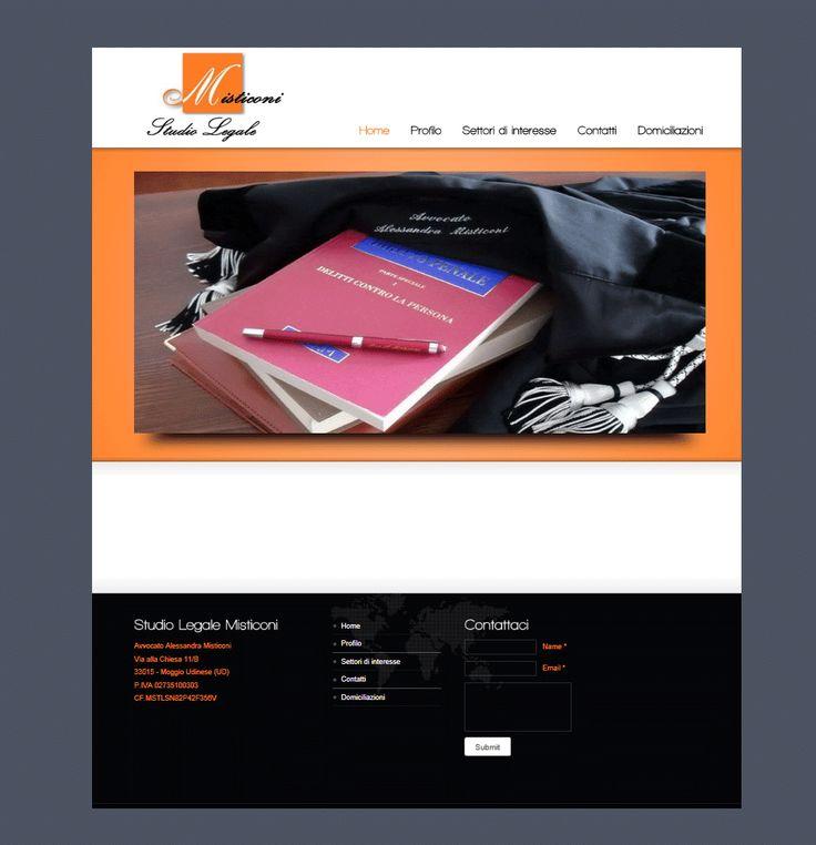 Sito web Studio Legale.