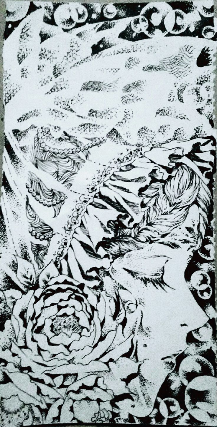 #drawing #artwork #doodle #illustration #fine #art #ink #draw #decorative #manga #イラスト #スケッチ#アート#絵#pointilism