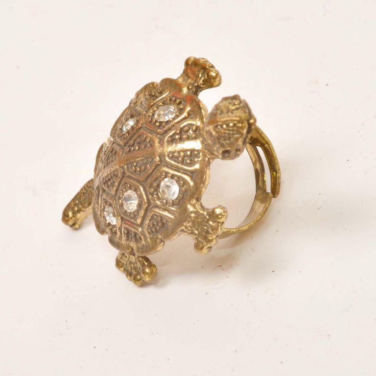 HAND MADE TURTLE RING