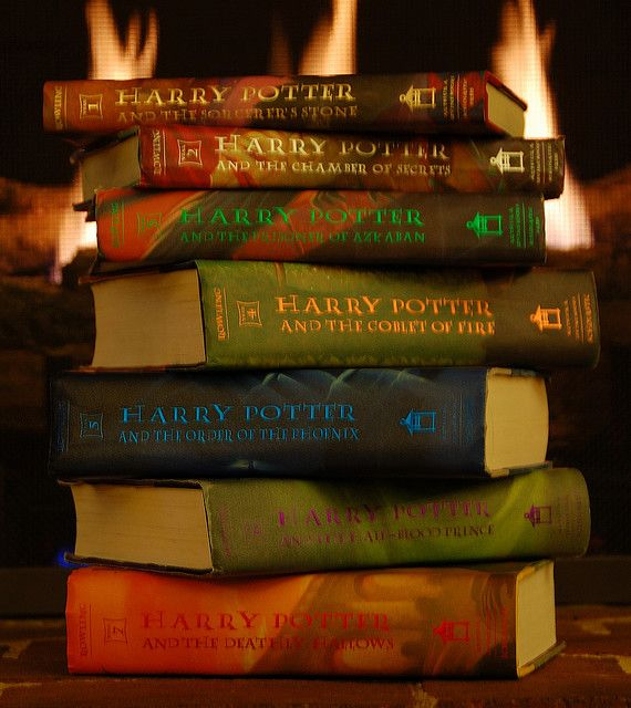 Harry Potter series by JK Rowling, recapturing childhood wonder and magic.