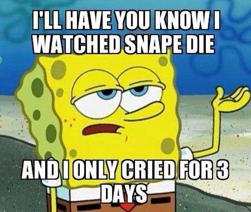 That's Professor Snape