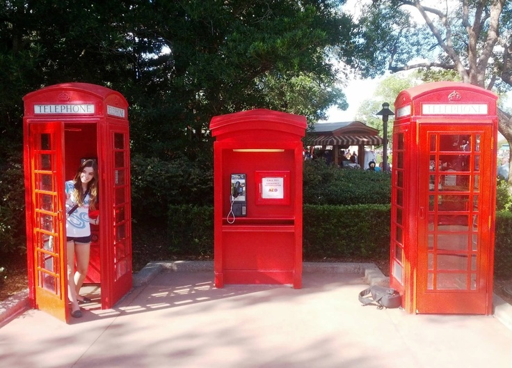 Experience Disney magic with an enchanting phone call to Epcot's UK Pavilion