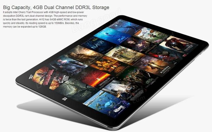 Original Box Chuwi Hi12 Intel Z8300 Quad Core 1.84GHz 12 Inch Dual Boot Tablet Sale - Banggood.com