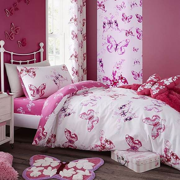 Toddler Bed Bedding Set Duvet Unicorn Easy Care Catherine Lansfield 50/% OFF NEW