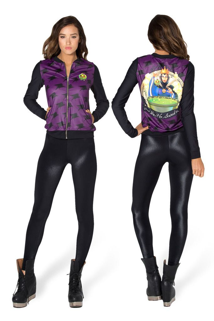 Evil Queen GF Bomber - LIMITED by Black Milk Clothing $110AUD