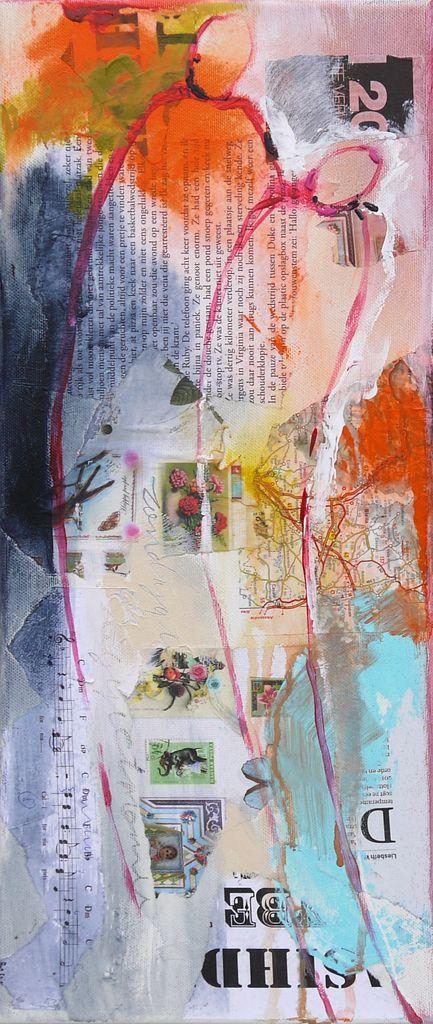 Ingeborg Herckenrath - CP Couple small 1 #art #collage