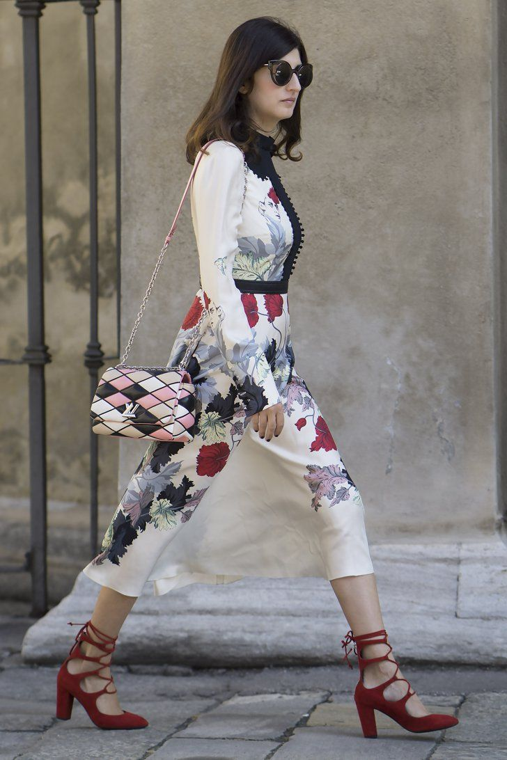 Best summer street style popsugar fashion - The Street Style At Milan Fashion Week May Be The Best Yet Day 4 Valentina Siragusa