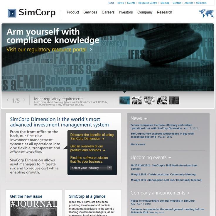 SimCorp  www.mr2percent.com