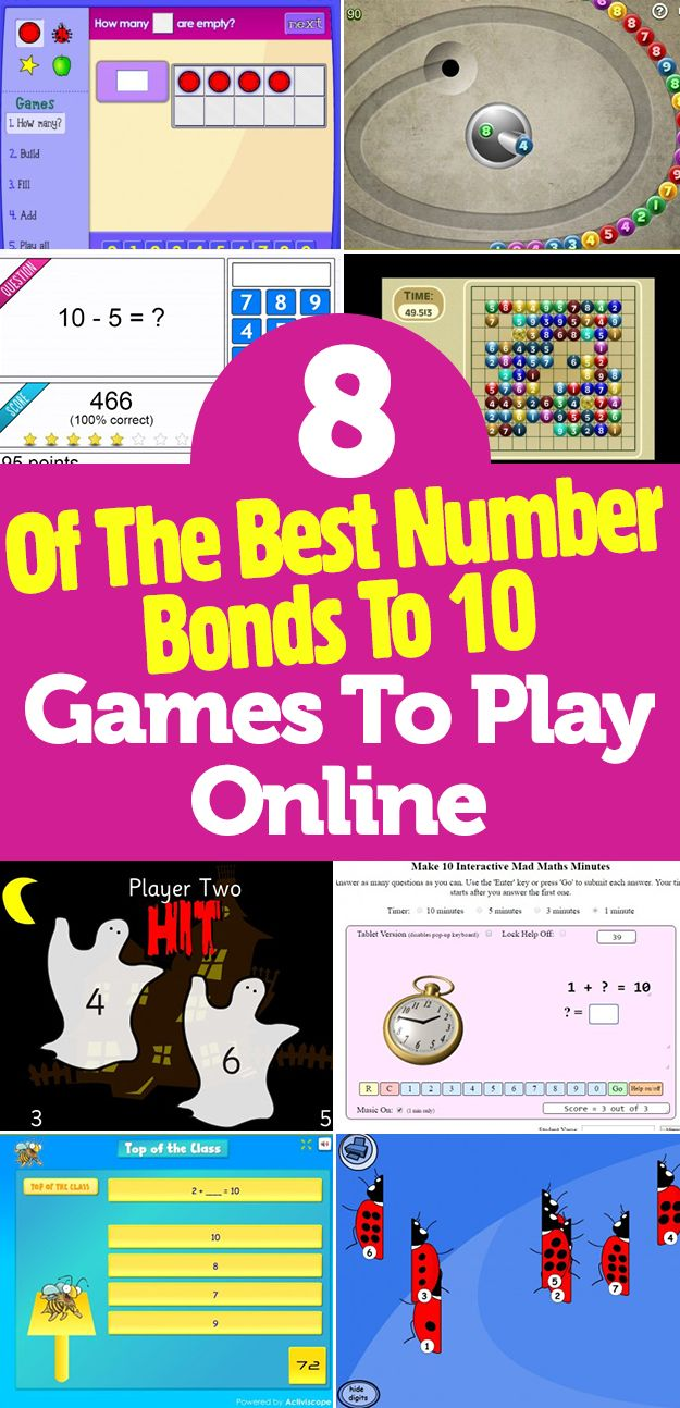 worksheet Number Bonds To 10 best 25 number bonds to 10 ideas on pinterest maths sums 8 of the games play online