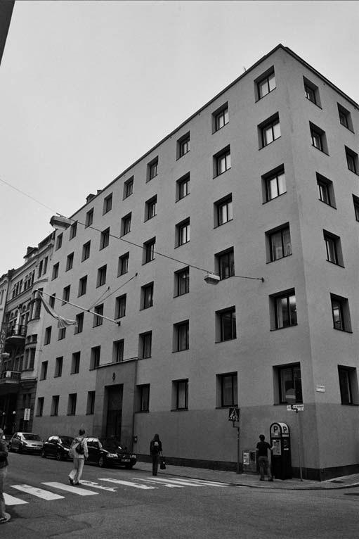 1931 Oficinas de la Seguridad Social.  Sigurd Lewerentz b