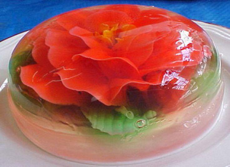 how to make encapsulated gelatin flowers