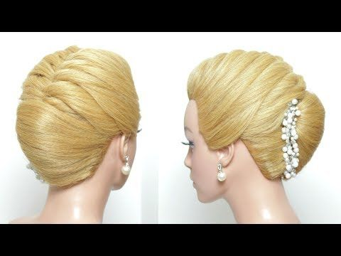 Hairstyle French Roll With Braid Simple Updo For Long Hair