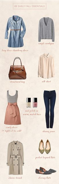 10 early fall essentials | Flickr - Photo Sharing!