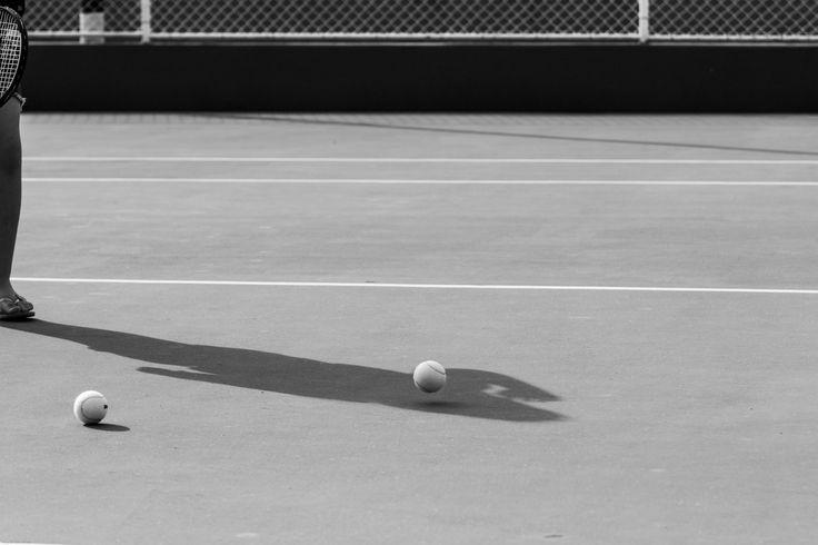 Uma partida de tennis na A.A.F
