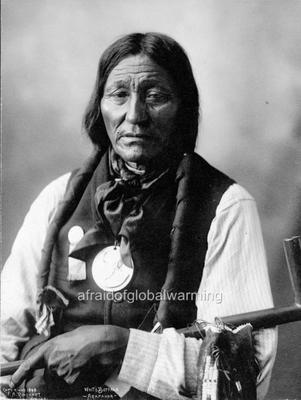 Photo 1890s White Buffalo Native American Arapahoe Indian | eBay