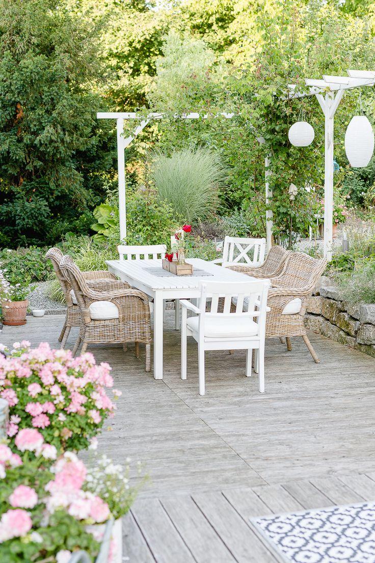 Outdoorliving auf der Terrasse
