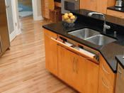 Rev-A-Shelf - Tip-Out Tray Stainless Steel with Hinges Sink & Base Accessories