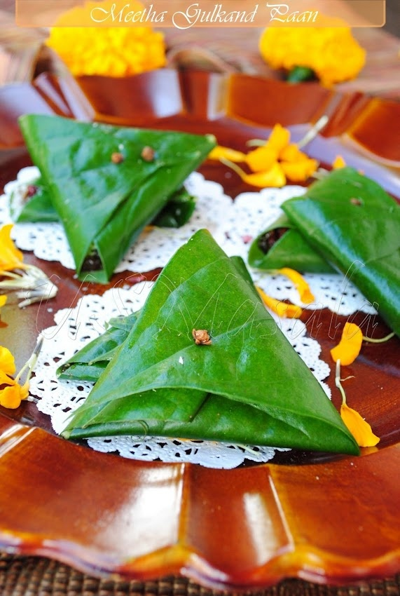 Meetha Gulkand Paan Recipe