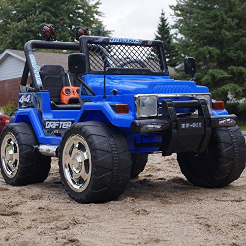 Parents Drive With Remote Control Kids Ride On Jeep
