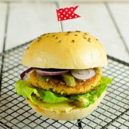 Csicseriborsó-hamburger Recept képpel - Mindmegette.hu - Receptek