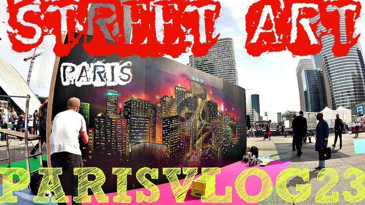 Paris Vlog #23 ★ Парижский STREET ART и танцы в ПАРИЖЕ
