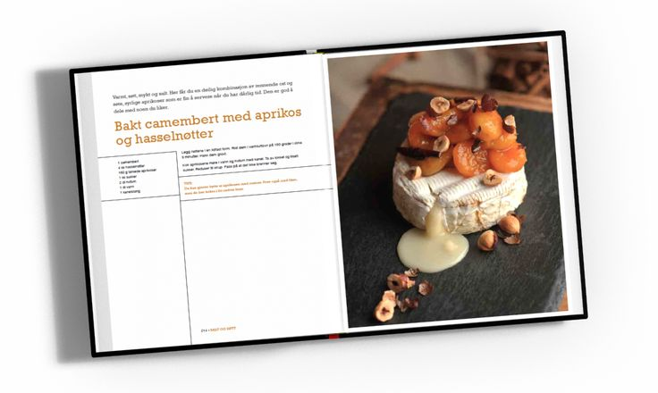 Bakt camembert kokebokoppslag
