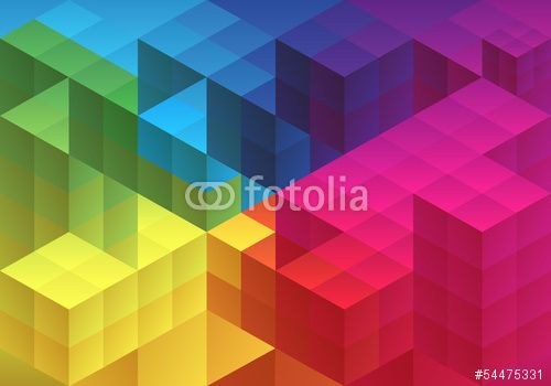 Wektor: Abstract geometric background, vector