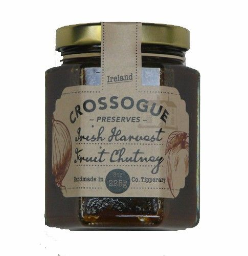 Crossogue Preserves Irish Harvest Fruit Chutney (225g)