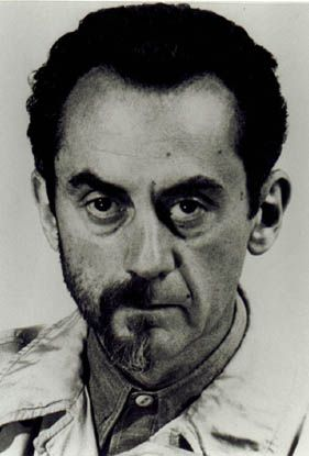 Man Ray. Self-Portrait with Half Beard. 1943